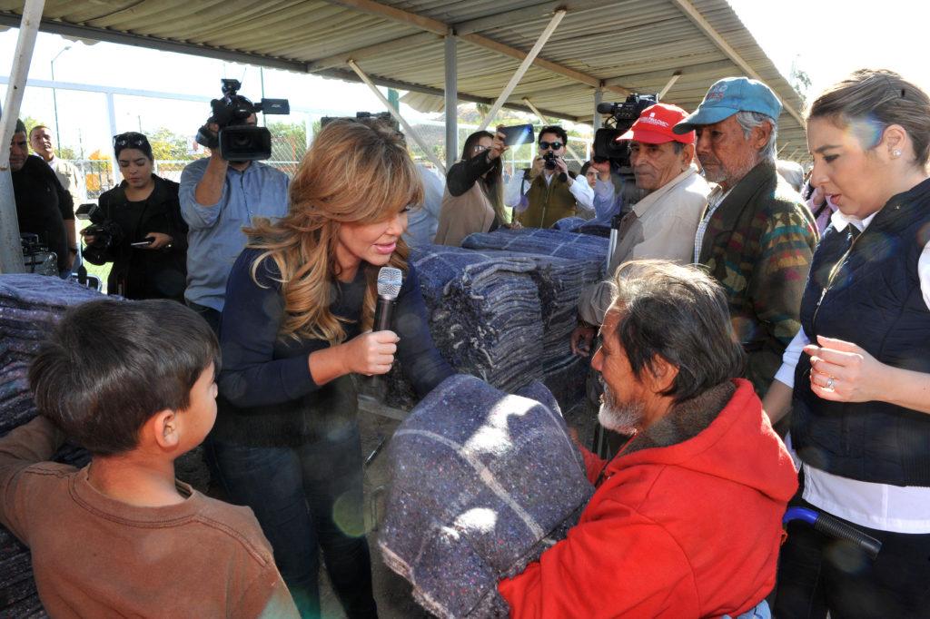 Inicia Gobernadora Claudia Pavlovich programa Abriguemos Una Esperanza