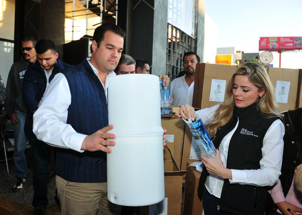 Inicia Sedesson programa Agua Limpia para familias vulnerables