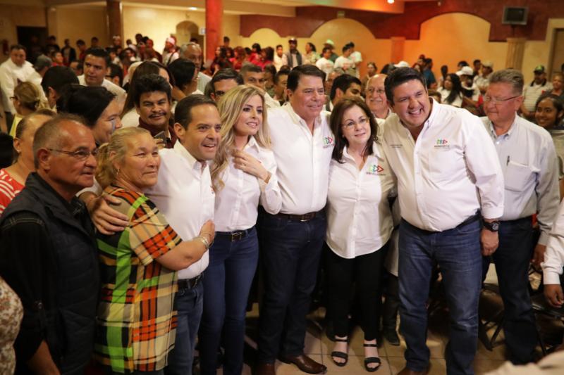 Gestionarán Sylvana y Maloro para que Agua Prieta tenga Universidad y un nuevo Hospital