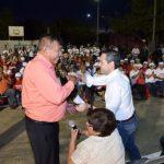 Familias de Providencia respaldan a la fórmula de Maloro y Sylvana