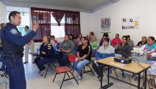 Promueven prevención deviolenciaintrafamiliar en Lagunitas