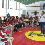 Educación, deporte y cultura contra la delincuencia: Titilo Leyva