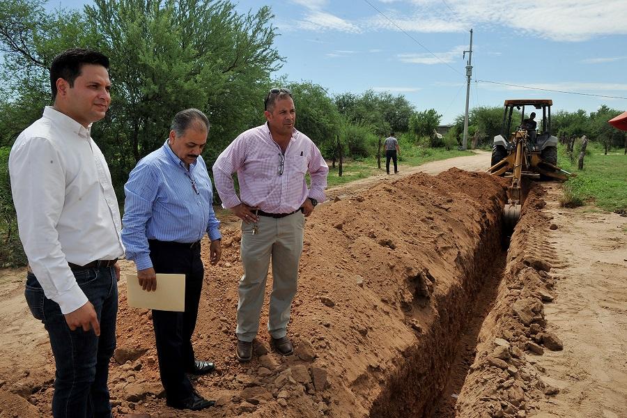Invierte SEDESSON 2.9 mdp en Infraestructura Básica en Ures