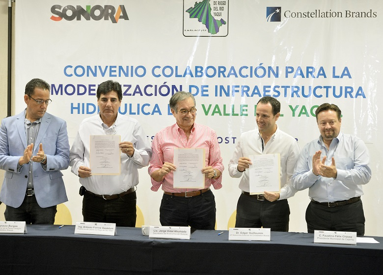 -Reafirma Constellation Brands confianza en Sonora