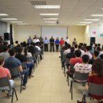Ceremonia de bienvenida a los nuevos alumnos en la U:T