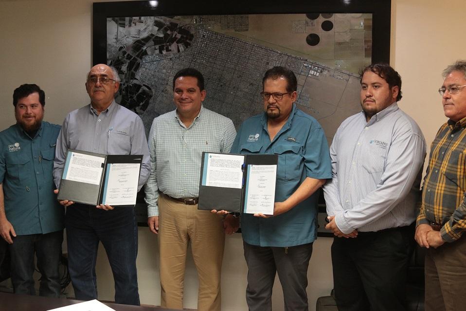 Firman convenio de colaboración OOMAPAS y Pronatura