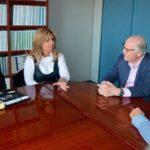 Gestiona Gobernadora alternativas de solución a red de alcantarillado y drenaje en Guaymas