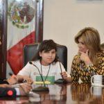 Motiva Gobernadora a niñas a alcanzar sus sueños