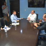 Recibe alcalde a su homólogo de Mexicali