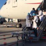 Fallece Japonés en pleno vuelo