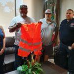 Recibe Protección Civil donativo de Halcones del Desierto