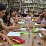 """Asisten niños y jóvenes a """"Mis vacaciones en la biblioteca"""""""
