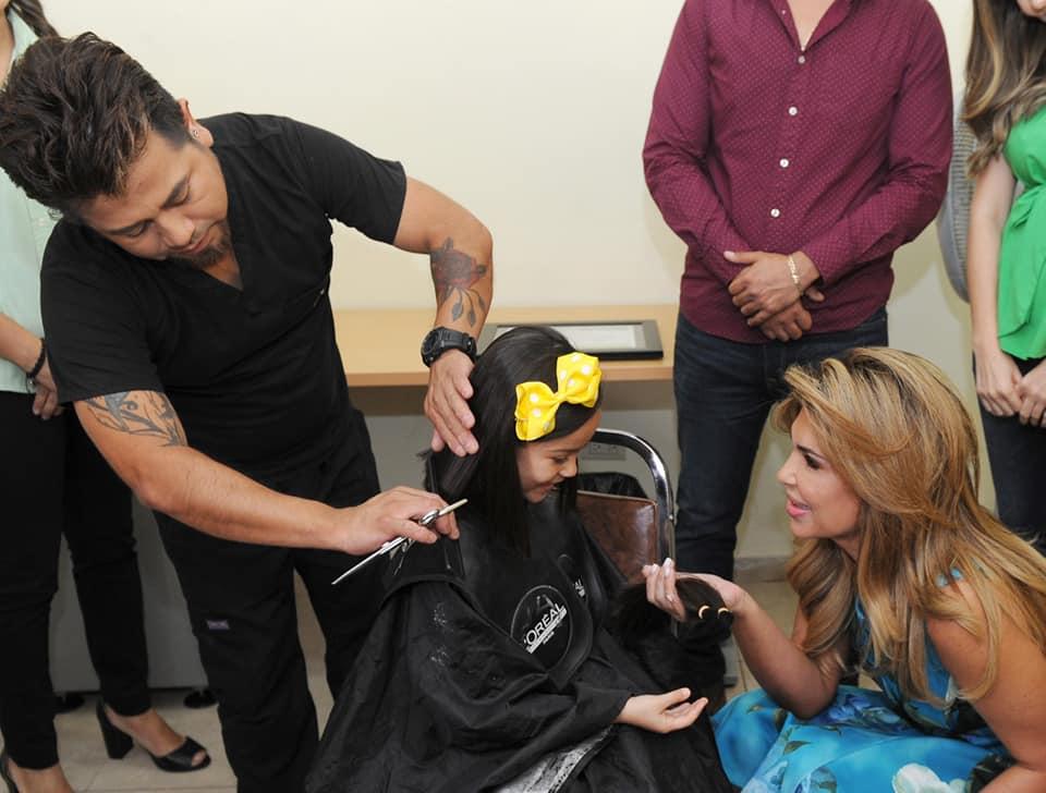 Reconoce Gobernadora generosidad en donación de cabello para pelucas oncológicas