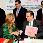 Destaca Gobernadora trabajo coordinado para atender fenómeno de migración