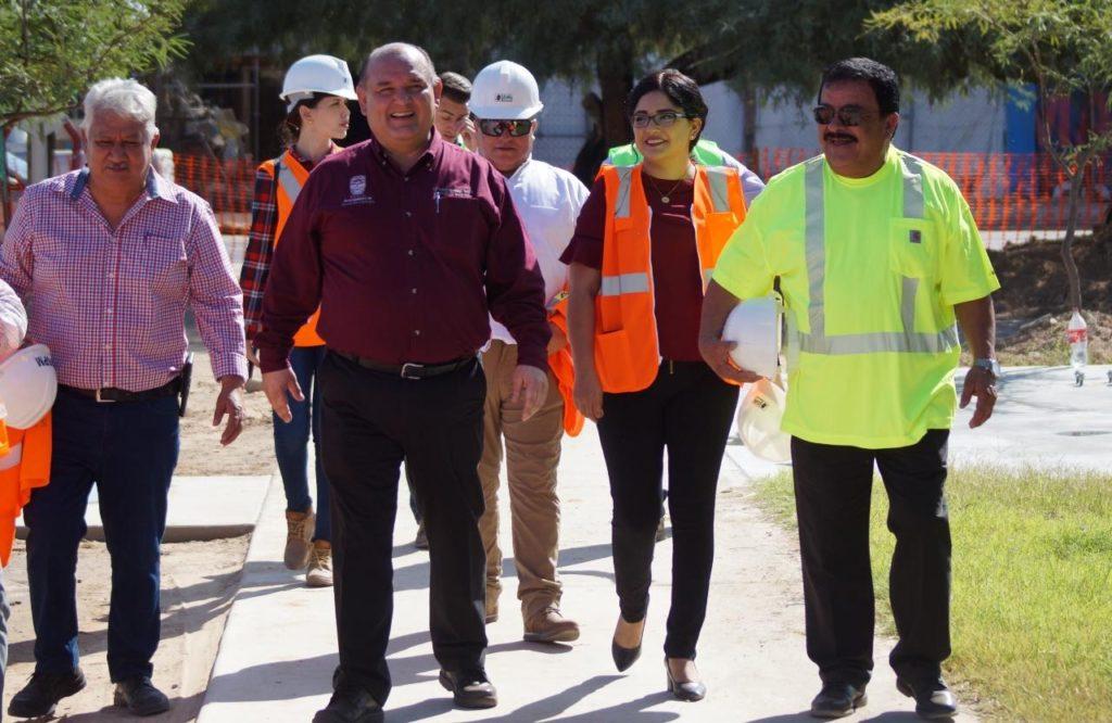 Recorre Alcalde obras del PMU