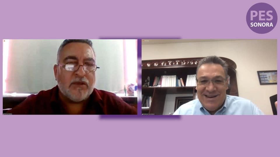 Se reúne Montes Piña con rector de la Universidad de Sonora para trabajar reforma a la Ley 4