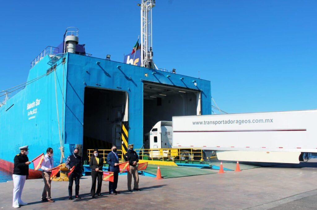Inicia operaciones ferri Guaymas - Santa Rosalía